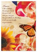 Tree Free Greetings Happiness Butterfly Birthday