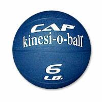 Cap Barbell 6 Pound Medicine Ball - Blue