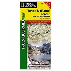 National Geographic Tarryall Mtns  #105