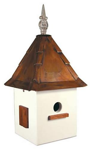 Heartwood Songbird Suite Birdhouse, White