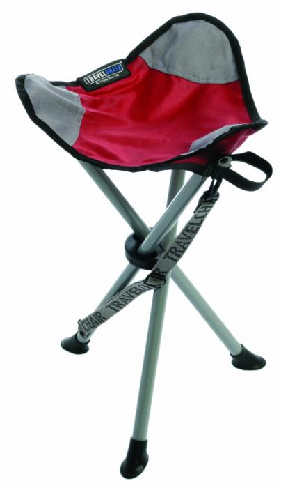 Travel Chair Slacker Stool, Red