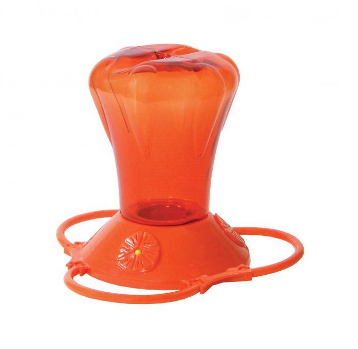 Hiatt Manufacturing 28 Ounce Oriole Bird Feeder, Orange