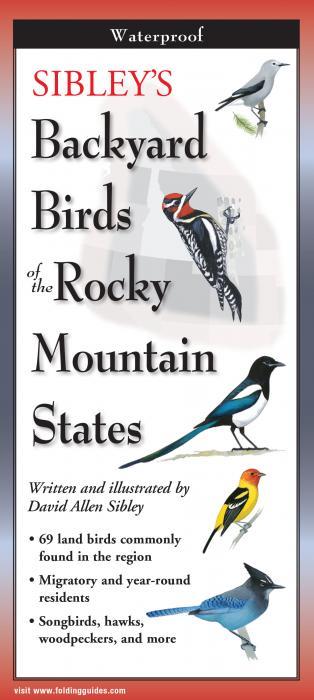 Steven M. Lewers & Associates Sibley's Backyard Birds of Rocky Mountain States