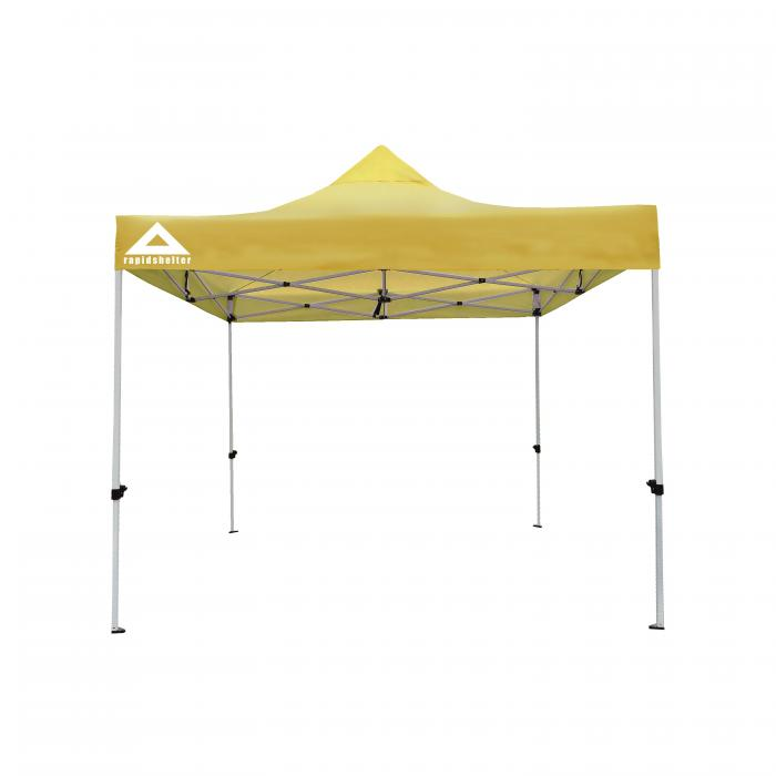 Caddis Aluminum Rapid Shelter : Caddis sports yellow rapid shelter