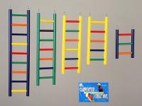 """Bird Wood Ladder 9 Rung 18"""""""