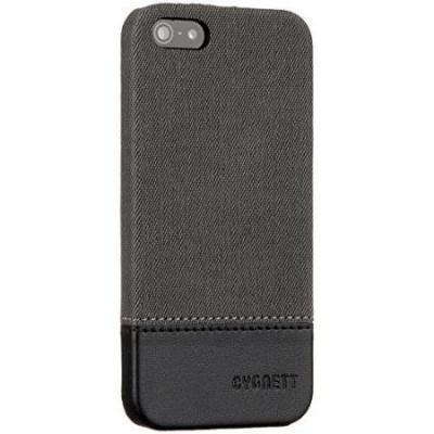 Cygnett Grey/Black Iphone 5S Case Thread Suede