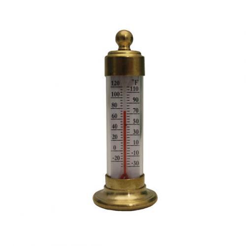 Conant Custom Brass Vermont Desk Thermometer Living Finish Brass