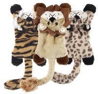 Plush Skinneeez Flat Cat Toy