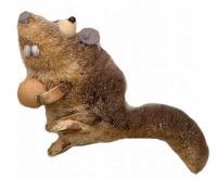 Brushart Squirrel Rat Ornament