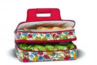 Picnic Plus Entertainer Hot & Cold Food Carrier, Floribunda