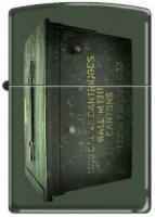 Zippo 221 Green Matte-Ammo Crate