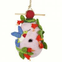 DZI Handmade Designs Hummingbird Felt Birdhouse