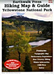 Earthwalk Press Yellowstone Np Hiking Map & Gd