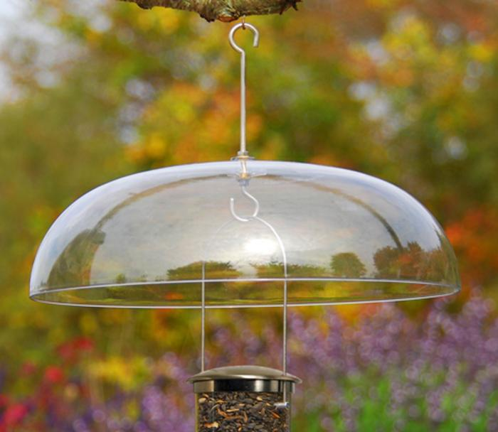 Aspects Super Dome Clear Baffle for Tube Bird Feeders
