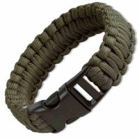 Boker Plus Survival Bracelet, 9 in., Olive Drab