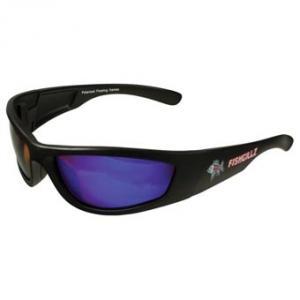 Fishgillz Northshore Seven Layer Polarized Sunglasses, Black/Blue