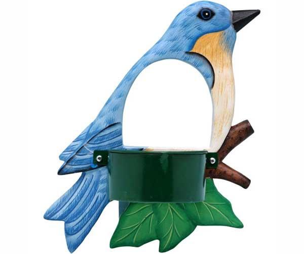 Bobbo Bluebird Window Bird Feeder