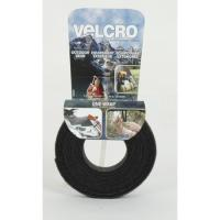 "Velcro One-Wrap Tape, 12' x 3/4"", Black"