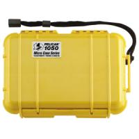 Pelican Products Micro Case Solid, Yellow, 7.5 x 5.06 x 3.13