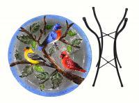Songbird Essentials SE5006 Songbird Trio Birdbath w/Stand