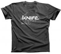 """Knife Depot """"Logo"""" T-Shirt (Unisex)"""