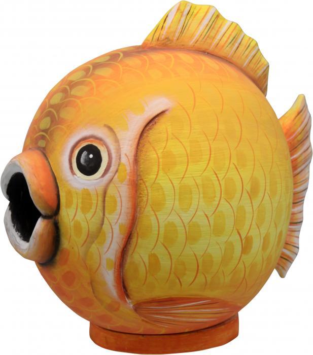 "Songbird Essentials Goldfish ""Gord-O"" Birdhouse"