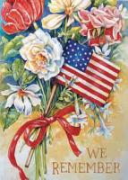 Toland We Remember Garden Flag