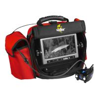 Vexilar Fish Scout color /BW Underwater Cam, Case