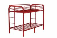 Twin Over Twin Bunk Bed by Nova Furniture Group, Red