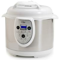 Elite Platinum 6 Qt Digital Pressure Cooker White