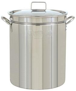 Bayou Classic 62 Quart Stainless Steel Stockpot with Lid