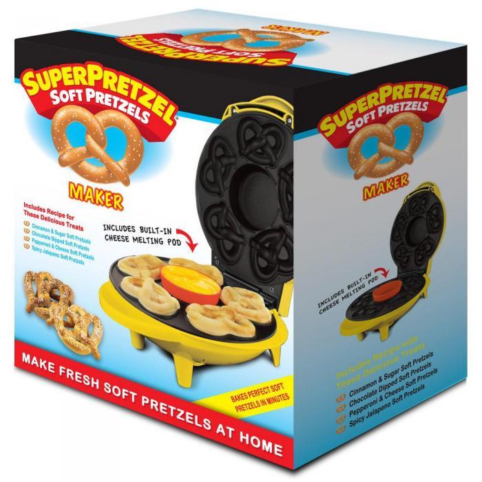 Smart Planet Super Pretzel Maker Soft Pretzel
