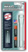 MagLite - AA Mini Mag Silver Flashlight Holster Pack