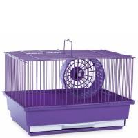 Single Story Hamster Cage -  Purple