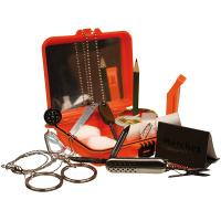 Red Rock Gear Survival Kit, Resealable Poly-Bag, Orange