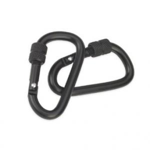 CAMCON -Locking Carabiner, Blk Small