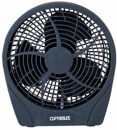 Optimus Grey 6 Inch Personal Stylish 2 Speed Fan