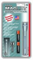 MagLite - AAA Mini-Mag Flashlight Gray Hanging Pack
