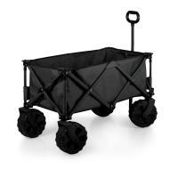 Picnic Time Adventure Wagon All Terrain - Black/Gray