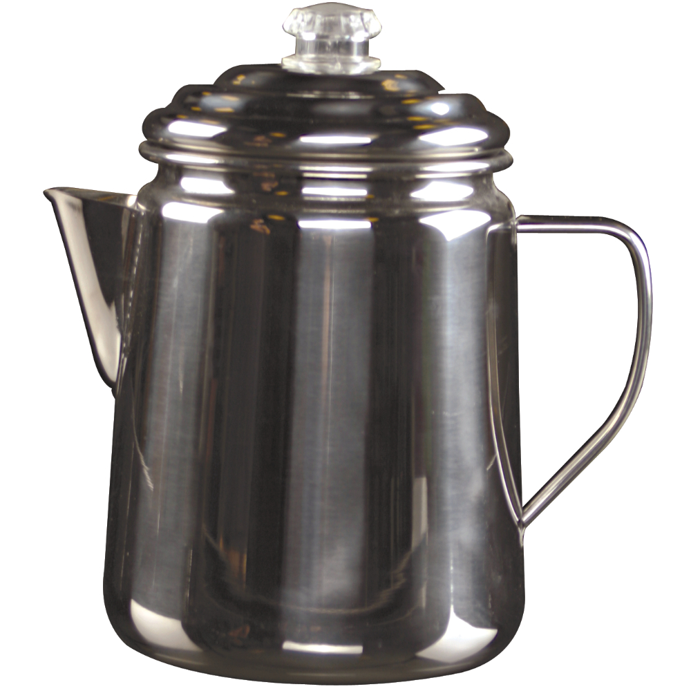 Perculator 12 Cup Stainless Steel