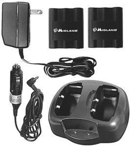 Midland AVP6 Charger Package for MDLLXT320, MDLLXT420, MDLLXT600 & MDLLXT650