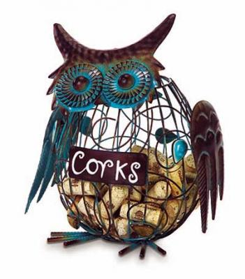 Picnic Plus Owl Wine Cork Caddy