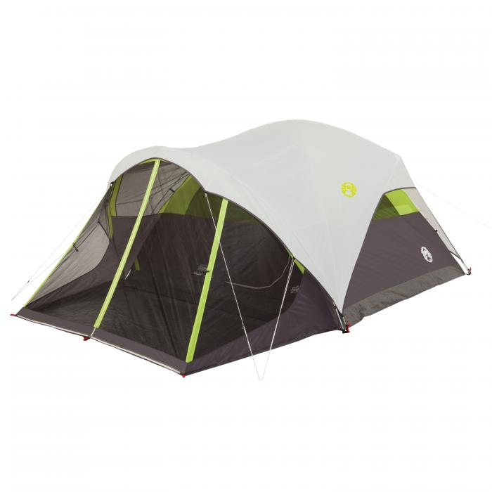 Steel Creek 6 Person FastPitchDome Tent w/Screenroom