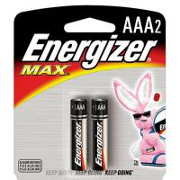 Energizer AAA Batteries, 2 Pack