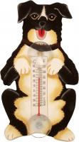 Songbird Essentials Begging Mutt Large Window Thermometer