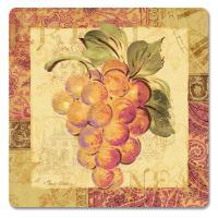 Counter Art Tastings of Tuscany Hardboard Coasters Set of 4