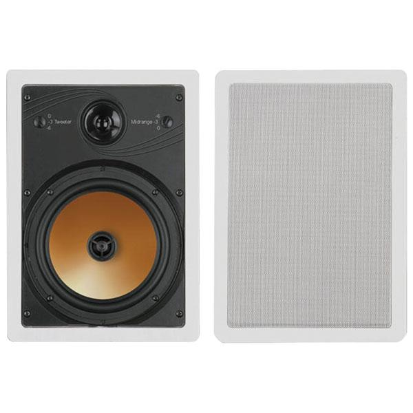Bic America HT8W 8, 3-way Acoustech Series In-wall Speakers
