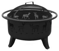 Landmann Patio Lights Deer, Black