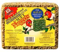 C & S Products Woodpecker Snak with Suet Nuggets, 2.4 lbs +Frt