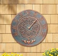 Whitehall Irish Blessing Thermometer - French Bronze